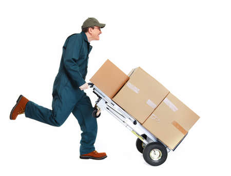 warehouse: Running Delivery postman