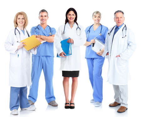 professional practice: Group of medical doctor