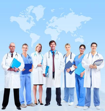 医師のグループ 写真素材
