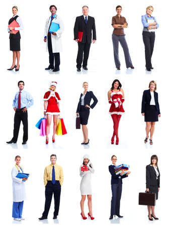 large group of business people: Group of business people  Stock Photo