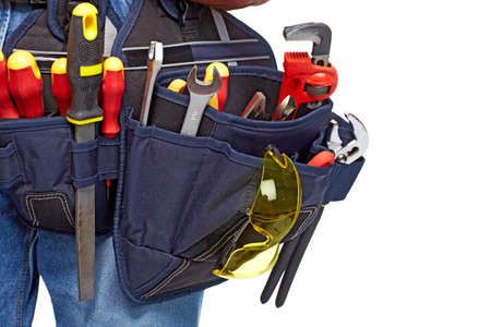 Tool belt  Construction and renovation  Stock Photo - 19354775