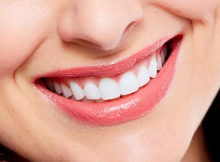 dental treatment: Beautiful woman smile