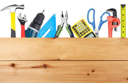 Outils de bricolage et de bois Banque d'images - 22217392