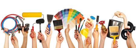 Ensemble d'outils de construction. Banque d'images - 28412947