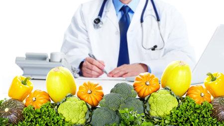 Nutritionist doctor man Reklamní fotografie