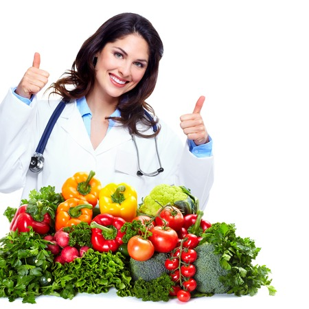 Nutritionist doctor woman
