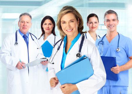 Quipe de médecins Banque d'images - 31039709