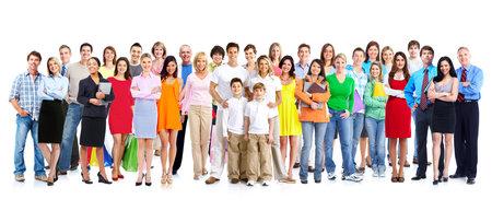 Group of people Standard-Bild