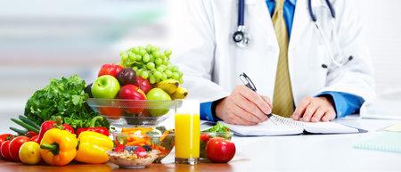 Nutritionist doctor man 写真素材