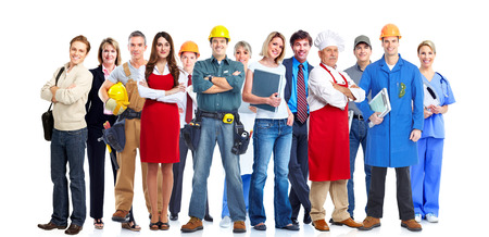 Equipo de personas de negocios. Foto de archivo - 34264281