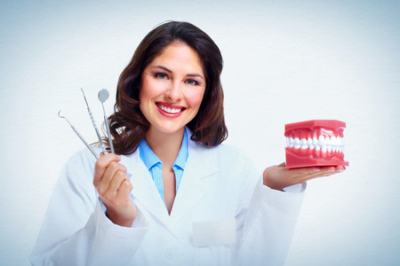 Dentist woman. Stock Photo