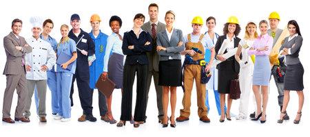 Gruppo di persone di lavoratori. Archivio Fotografico - 35752025