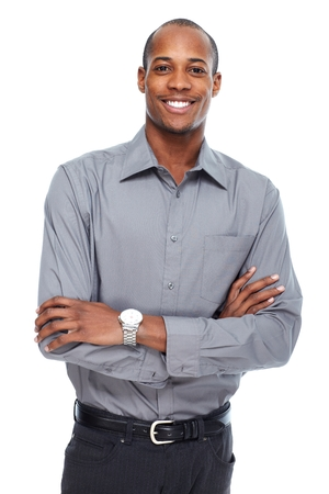 African American businessman Zdjęcie Seryjne