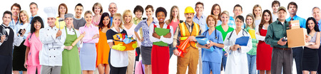 Group of workers people. Stock Photo - 35820642