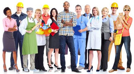 Grupo de personas de los trabajadores. Foto de archivo - 36186181