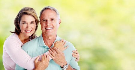 Happy senior couple. 写真素材