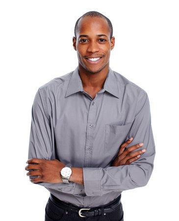 Friendly African-American man