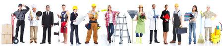 Group of workers people. 版權商用圖片 - 36561083
