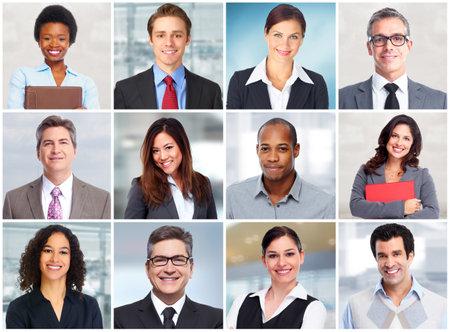 Business people face. Foto de archivo