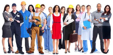 Gruppo di persone di lavoratori. Archivio Fotografico - 36853950