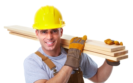 Handyman werknemer.