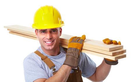 Handyman worker. 版權商用圖片