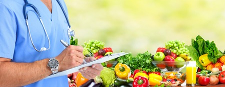 Diet and health care. Reklamní fotografie