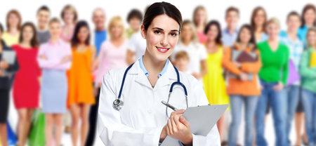 Medical doctor. Standard-Bild