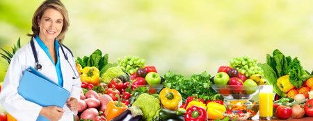 La dieta y el cuidado de la salud. Foto de archivo - 37043833