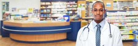Pharmacist man portrait