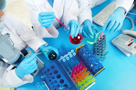 研究室で医師のグループです。 写真素材