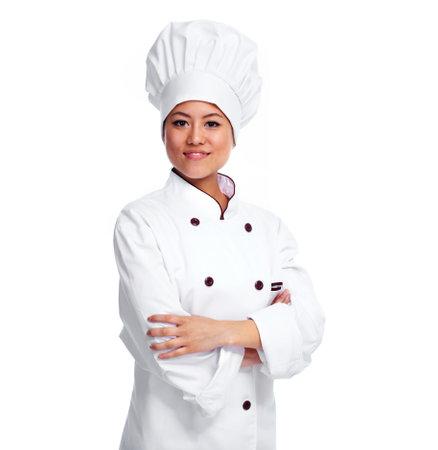 Chef-kok vrouw.