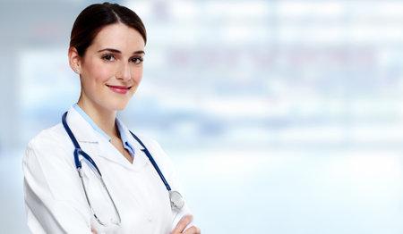 Mujer del médico. Foto de archivo - 37863067
