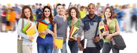 Studenten. Stockfoto