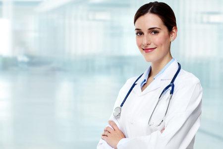 医師の女性。 写真素材