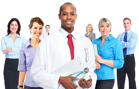 African american medical doctor man. Banco de Imagens