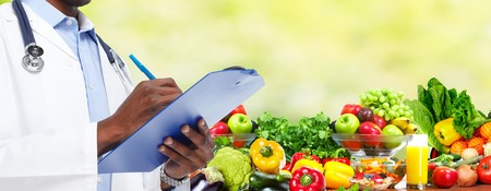 Diet and health care. Stockfoto