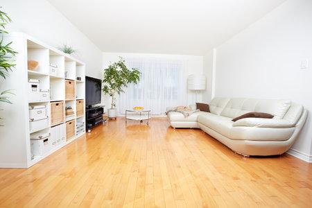 아름다운 아늑한 현대 아파트. 부동산 개념.