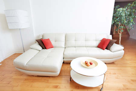 Beautiful cozy modern apartment. Real estate concept. 스톡 콘텐츠