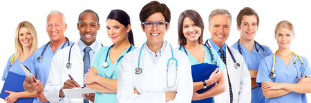 Group of medical doctors. Health care concept background. Reklamní fotografie - 47331368
