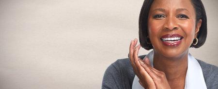 Afro-Amerikaanse zakenvrouw.