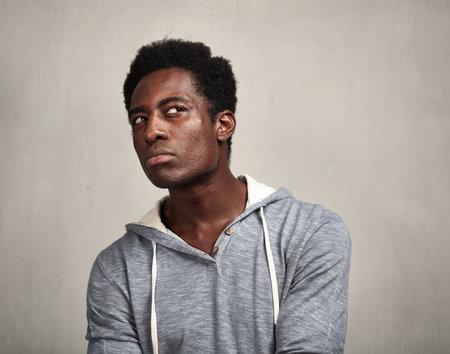 Thinking black man