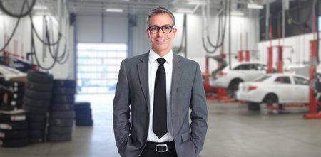 Auto dealer man