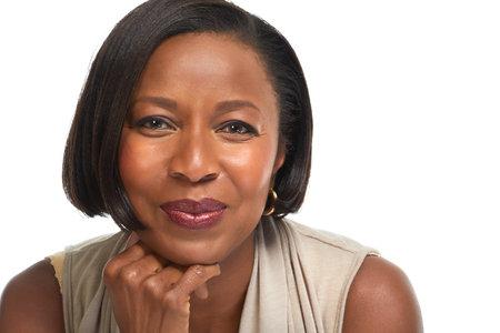アフリカ系アメリカ人ビジネスの女性。