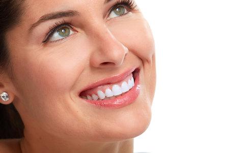 Beau sourire femme. Banque d'images - 78837525