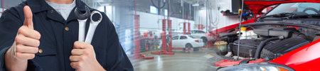Car mechanic. Stock fotó
