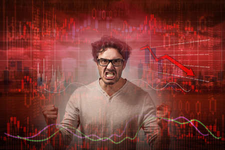 Stock market crash. 스톡 콘텐츠