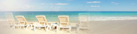 Tropical beach sea Stock Photo