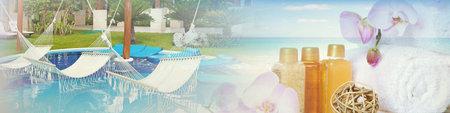 spa background resort