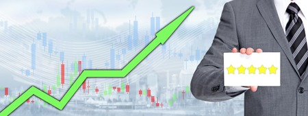 Stocks to buy banner concept